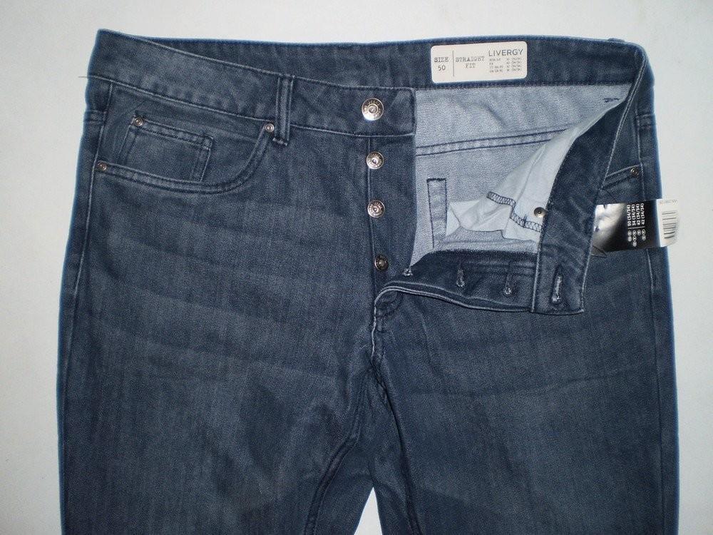 Мужские термоджинсы термо джинсы livergy германия, теплоизоляционный эффект фото №1