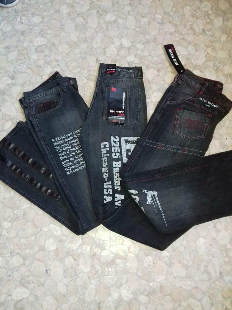 Новые мужские джинсы в размерах фото №1