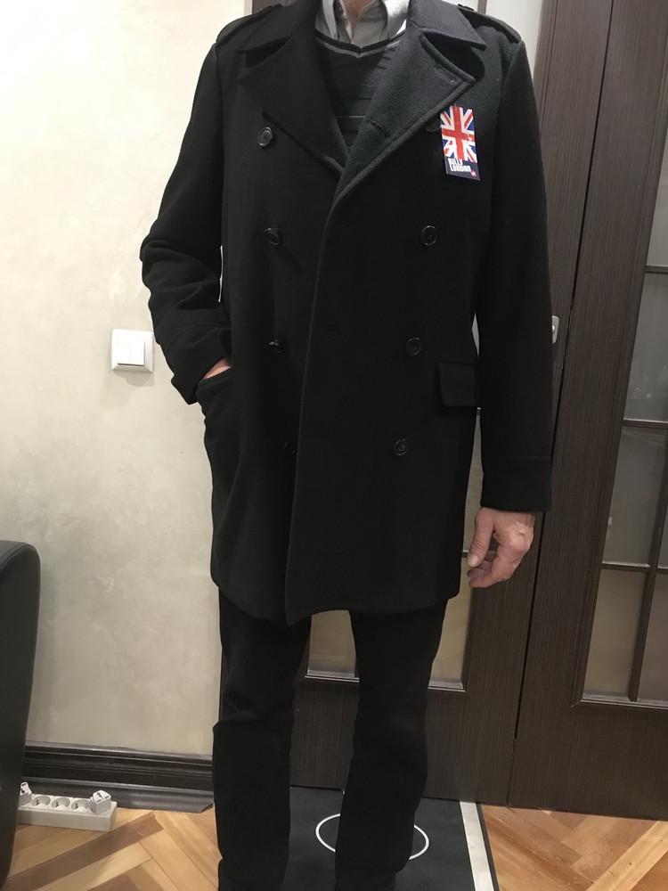 Стильное новое мужское пальто billy london (из сша) фото №1