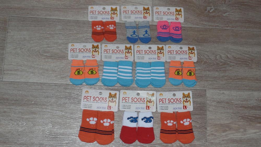 Носочки для котов и собак р s-m-l фото №1