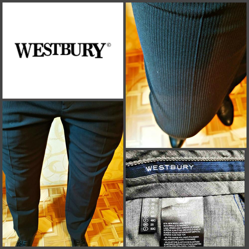Классические брюки от westbury(c&a), шерсть, оригинал фото №1
