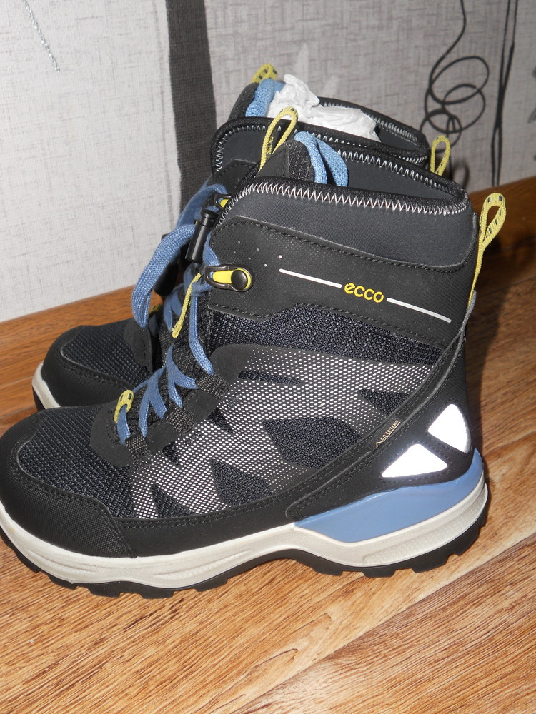 Новые!зимние сапоги ботинки ecco snow mountain р 33 фото №1
