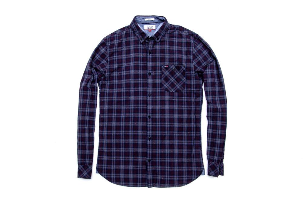 Рубашка tommy hilfiger slim fit. размер s фото №1