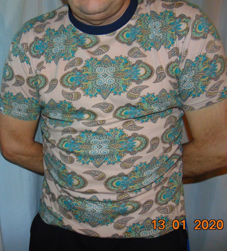 Стильная катоновая фирменная футболка бренд belield.м. фото №1