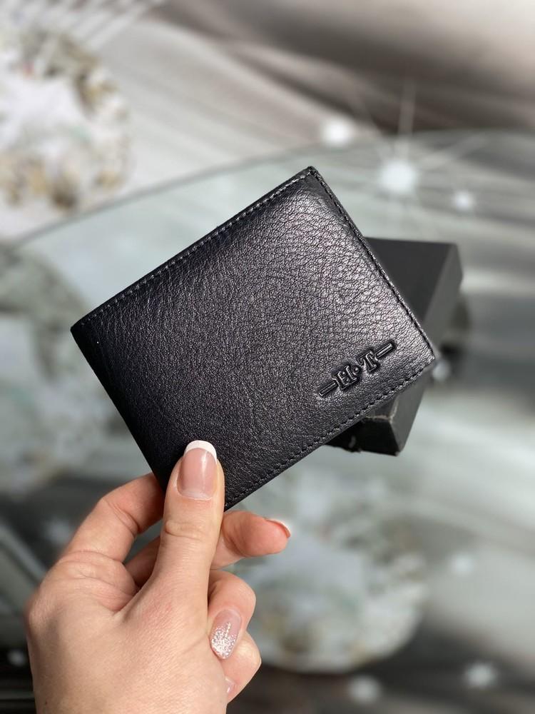 Мужской кожаный бумажник (кошелек) фото №1