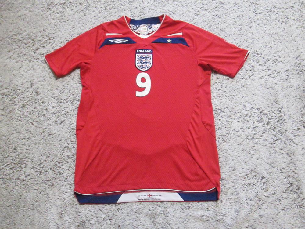 Футболка футбольная англия, гиббо, englend, gibbo, номер 9 фото №1