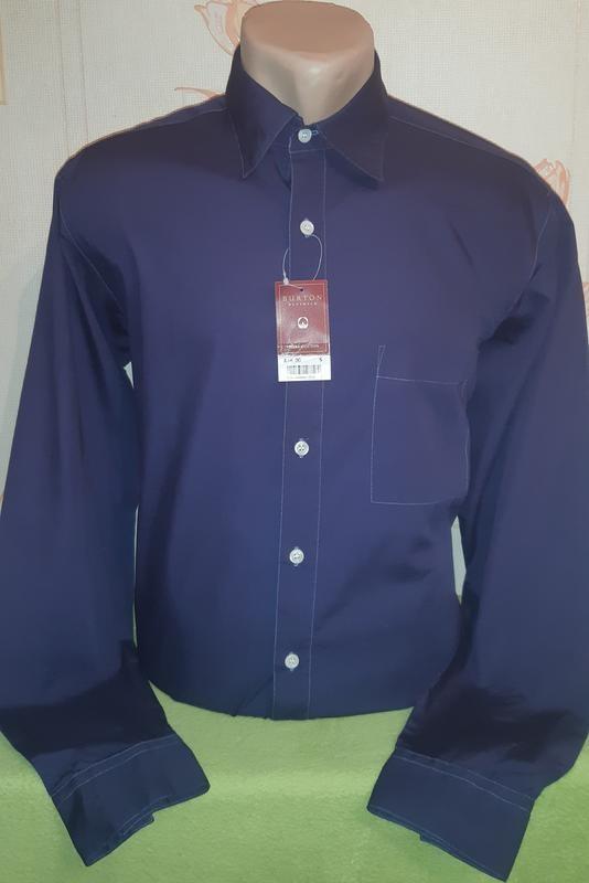 Новая рубашка burton menswear , pure cotton made in bangladesh фото №1