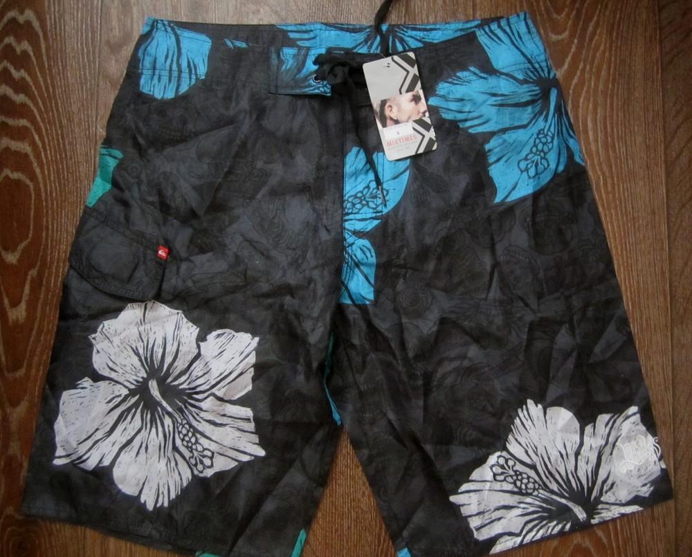 Брендовые шорты. шорты для плаванья. фото №1