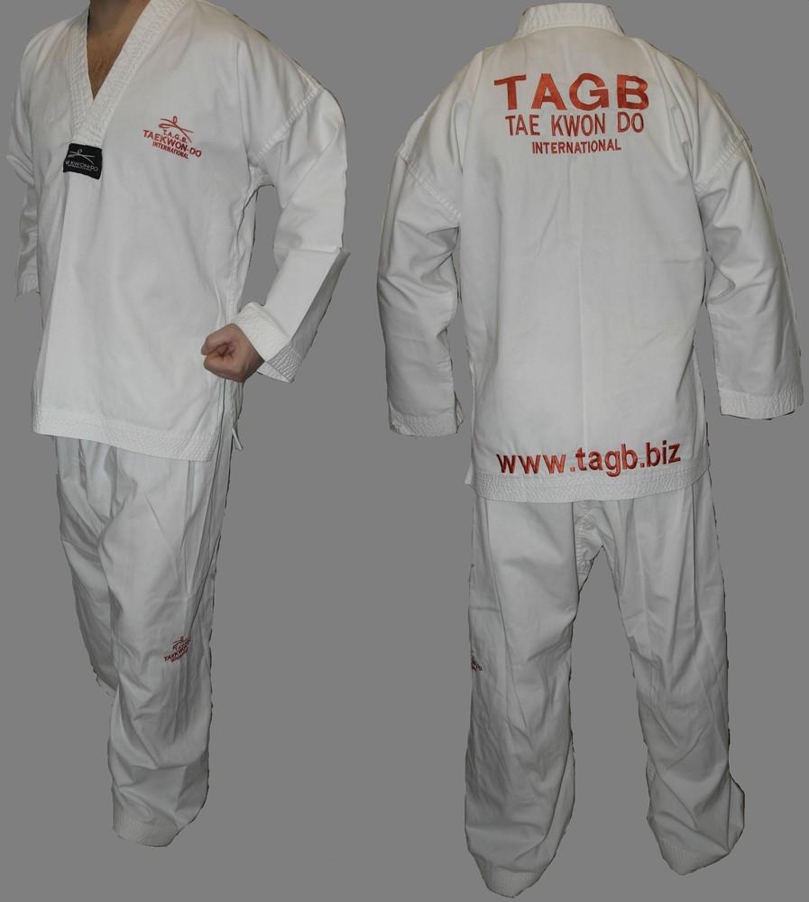 Tae kwon do кимоно куртка+штаны тей квон-до комплек фото №1