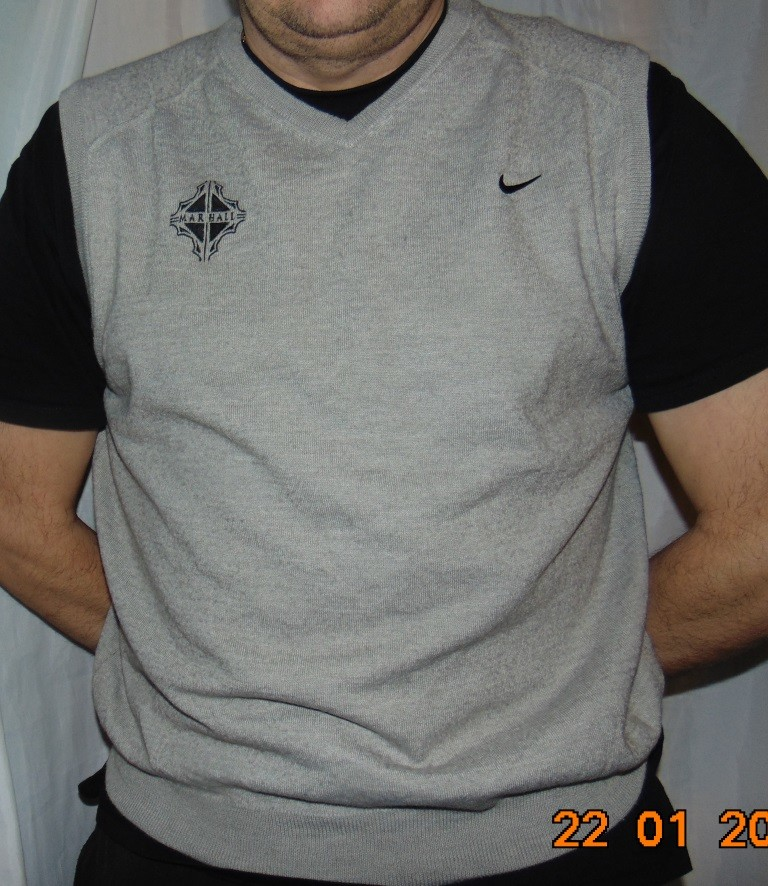 Спортивная оригинальная фирменная кофта свитр.nike найк л-хл . фото №1