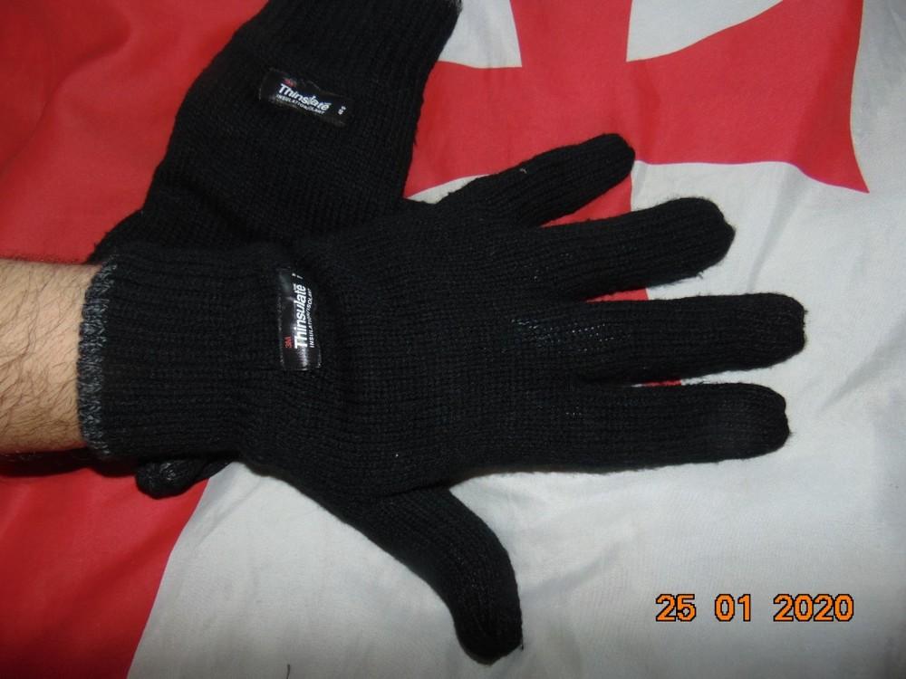 Фирменние стильние перчатки варежки.thinsulate. м-л-хл . фото №1