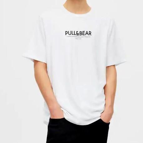 Мужская футболка pull&bear хлопок оригинал фото №1