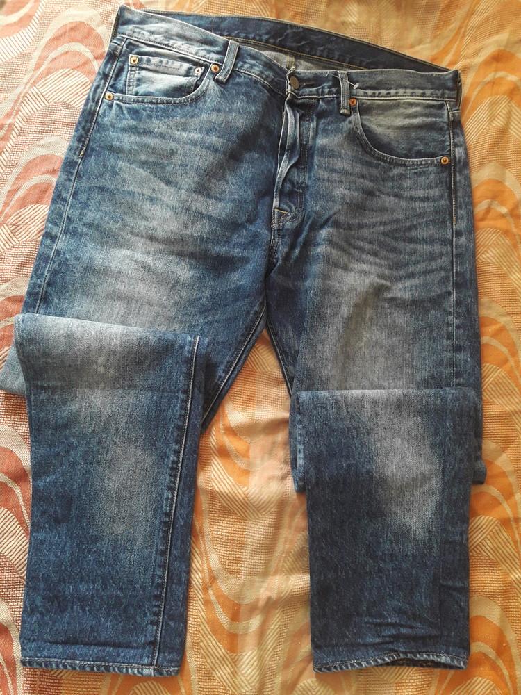 Фирменные джинсы levi's 501 34/34 длина 102см. фото №1