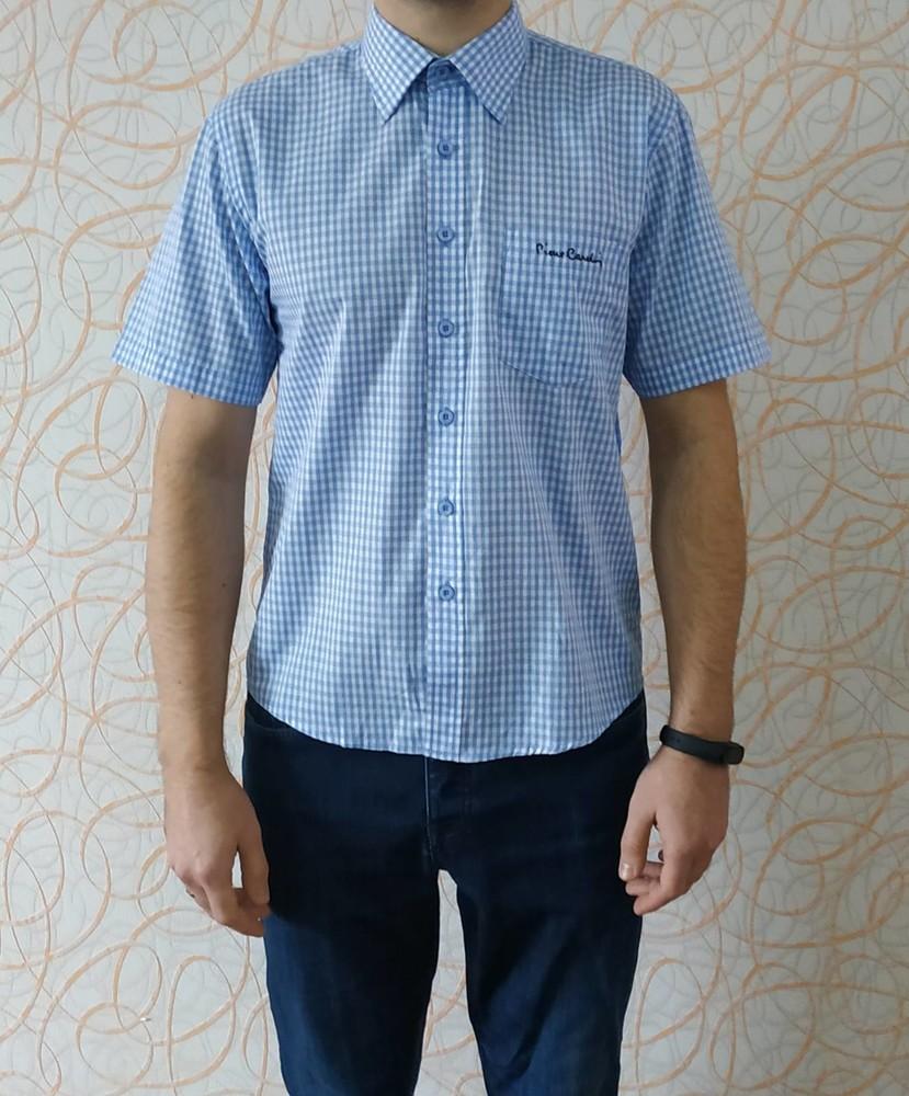 Фирменная мужская рубашка тенниска пьер кардин pierre cardin originals оригинал фото №1