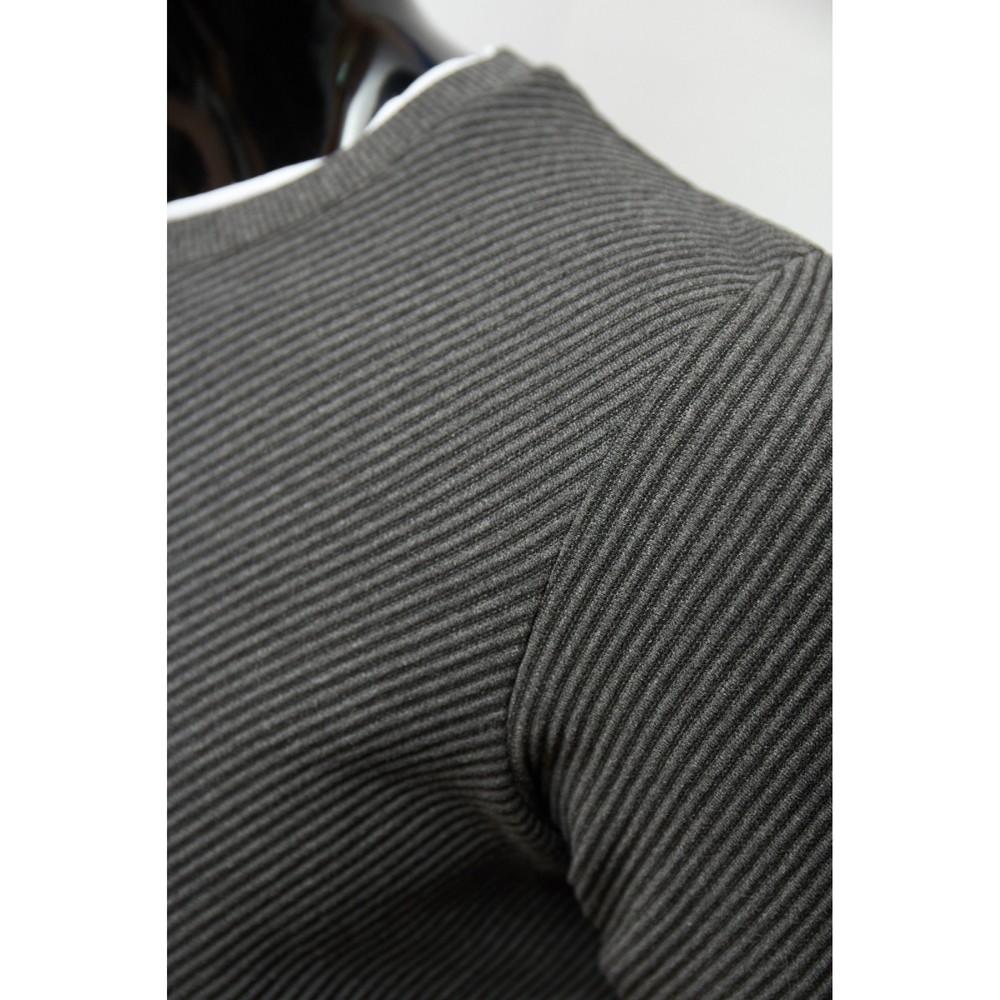 Свитер мужской figo 2637-1 серый фото №1