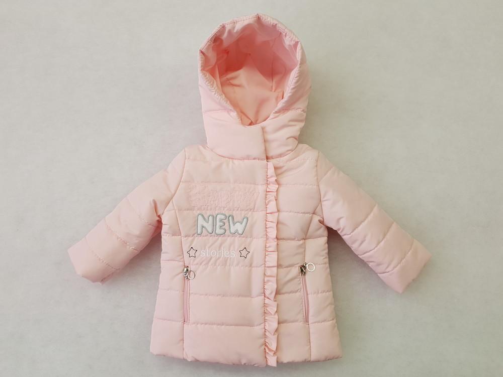 Куртки для девочек 80-104 фото №1