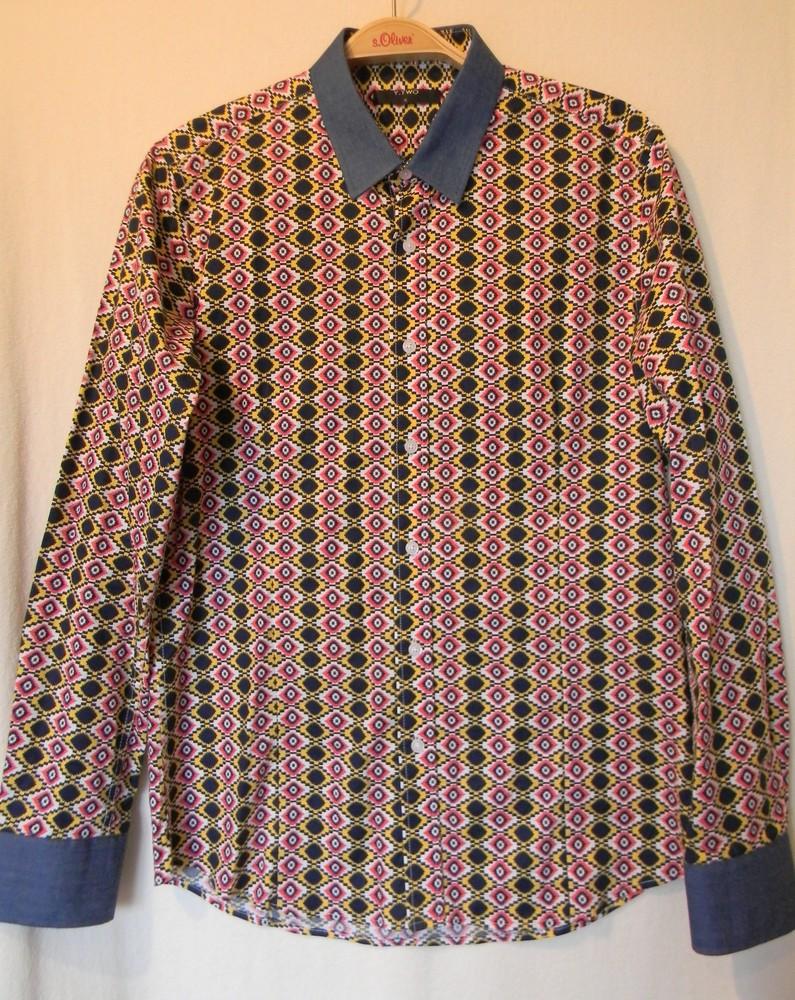 Мужская рубашка y.two р. l фото №1