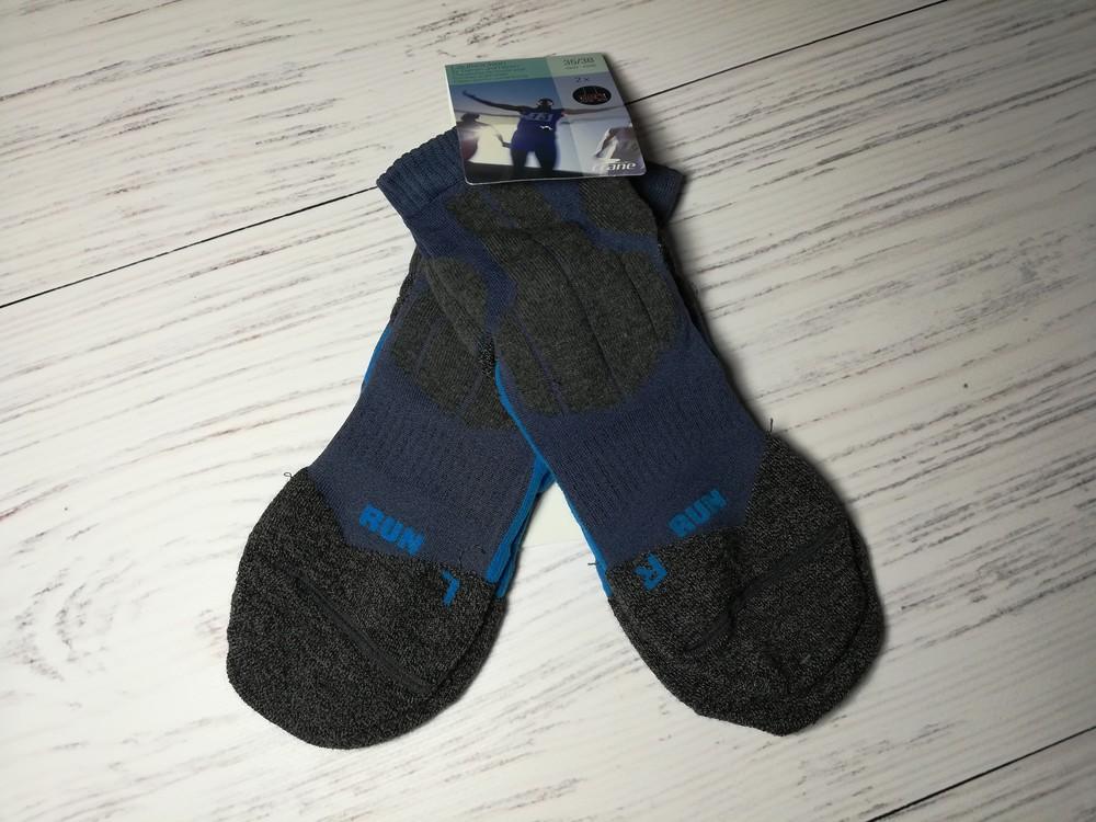 2 пары, спортивные беговые носки, зональные 35-38 crane, германия фото №1