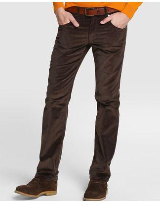 Мужские брюки штаны вельветовые , el corte ingles ,штани вельвети чоловічі dustin. фото №1