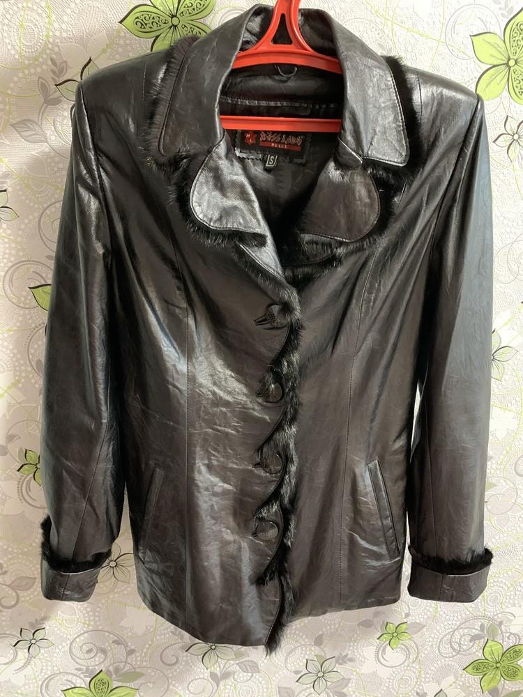 Куртка из натуральной кожи фото №1