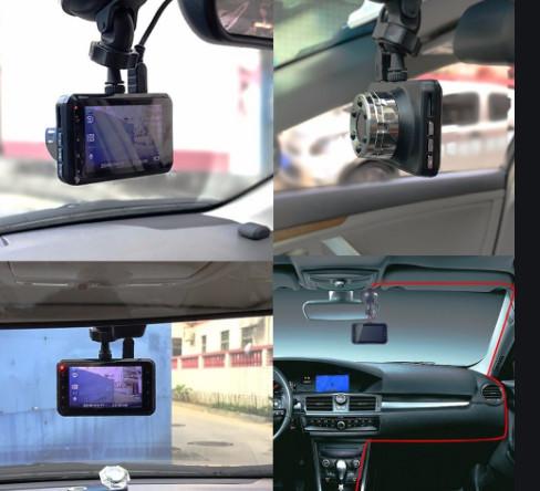 Видеорегистратор t638 wdr full hd с ночной сьёмкой, 1 камера 3″ экран фото №1