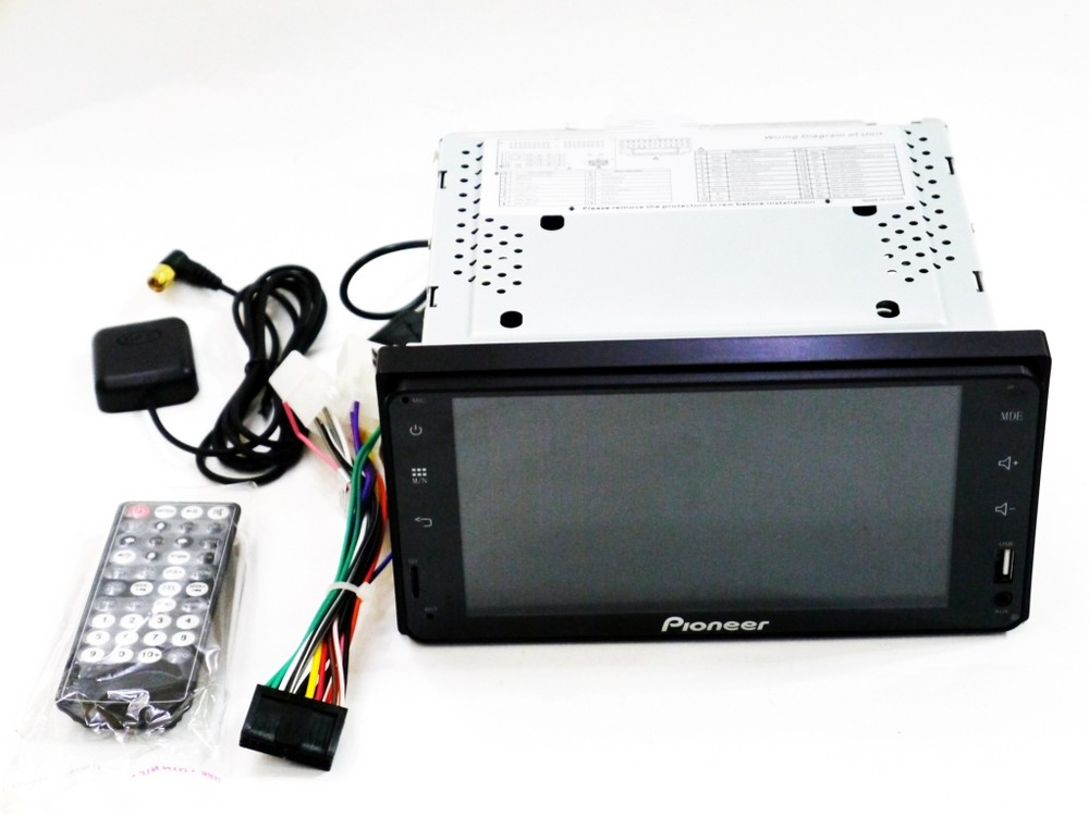 2din pioneer pi-607 android штатная магнитола can шина фото №1