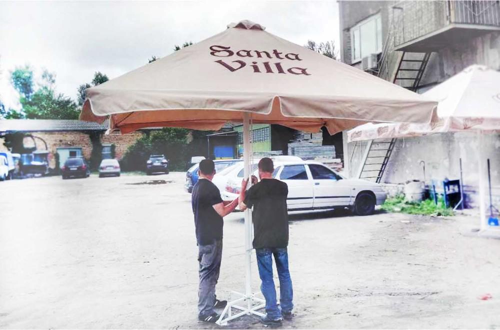 Зонты для кафе и торговли фото №1