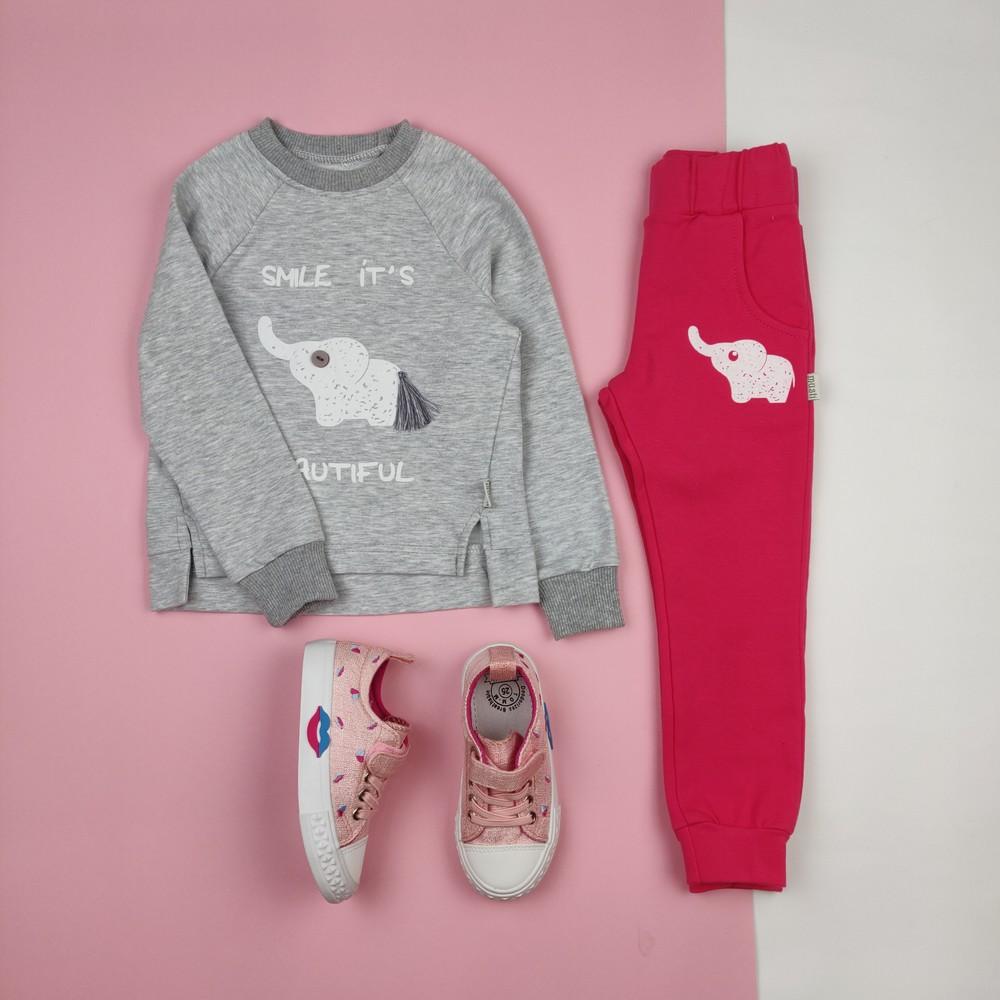 Детский костюм на девочку спортивный комплект для девочки 420076 фото №1
