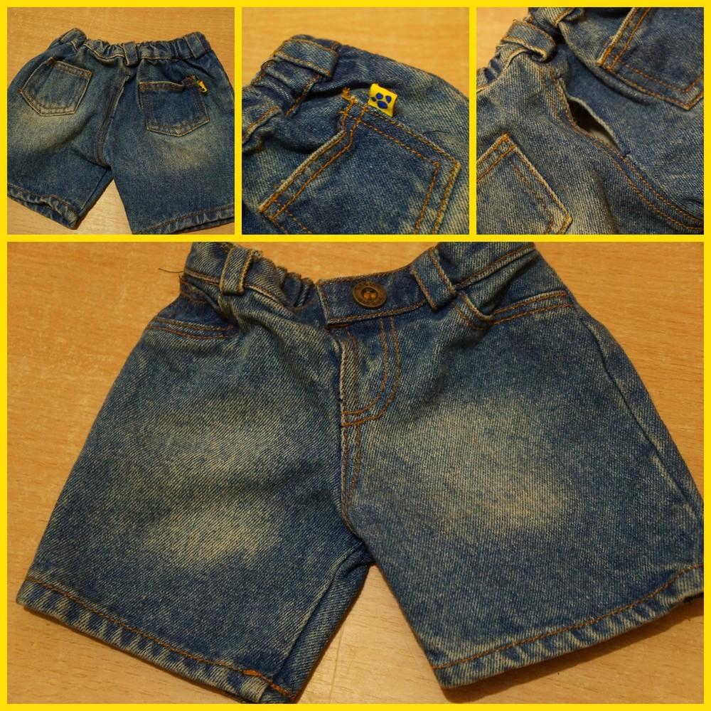 Джинсовые шорты для маленькой собачки фото №1