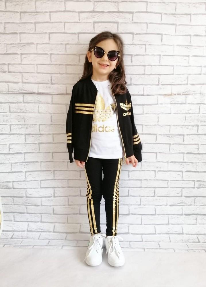 Шикарный спортивный костюм для девочек фото №1