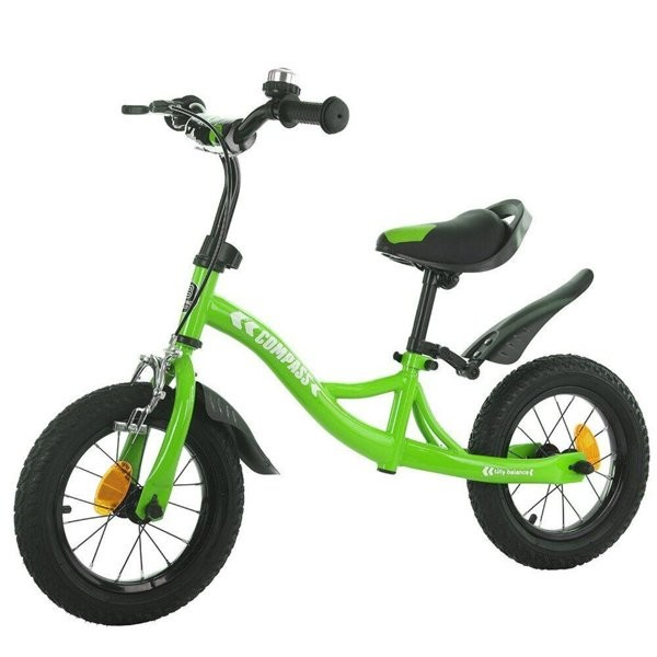 Велобег с надувными резиновыми колесами 12 compass t-21258 - 5 цветов фото №1