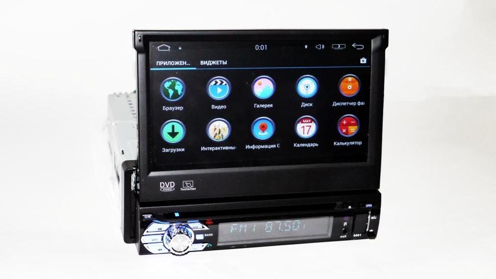 1din pioneer 9501 gps+4ядра+16gb rom+1gbb ram+adnroid фото №1