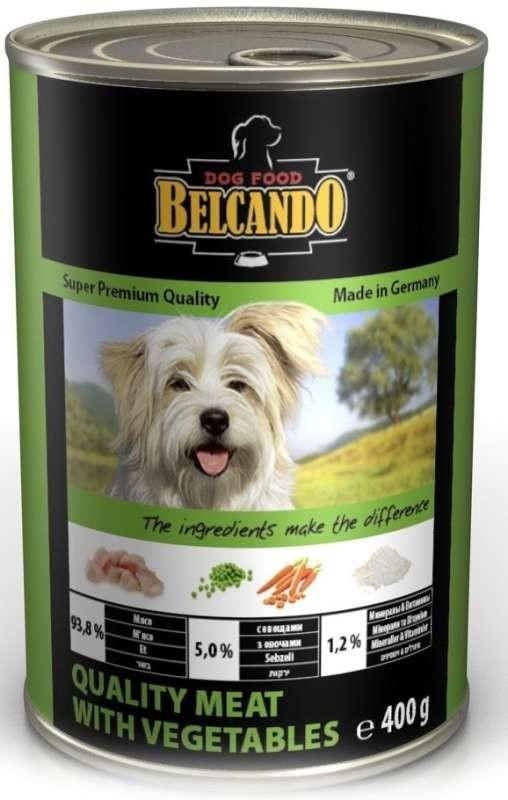 Belcando quality meat with vegetables есть набор 6 шт доставка бесплатно фото №1