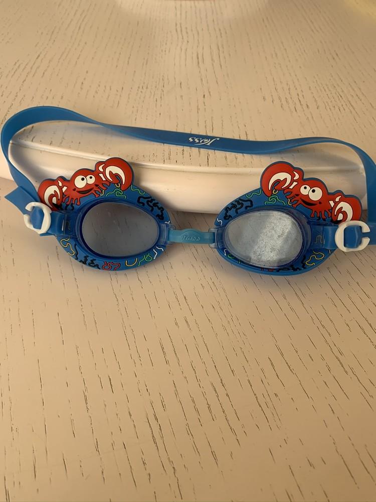 Очки для плавания детские joss, краб, 3-8 лет фото №1
