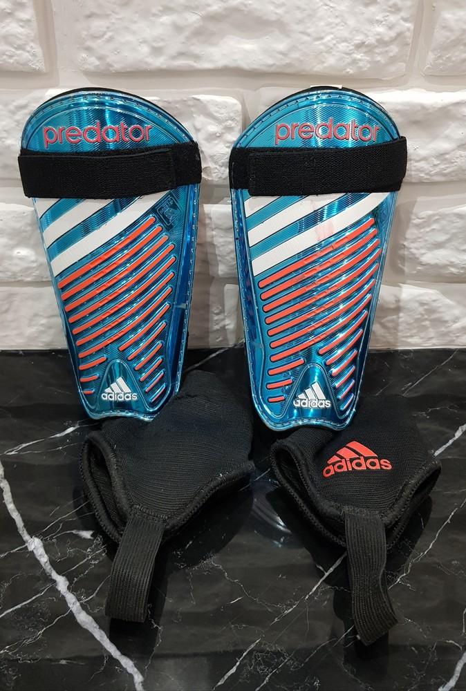 Фирменные щитки с защитой щиколотки adidas фото №1