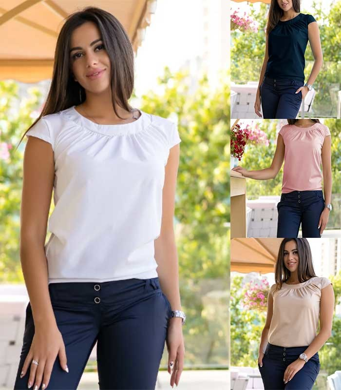 Женская блуза летняя motylek фото №1