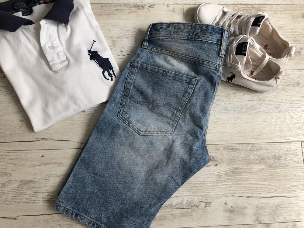 Шорти джинсові jackjones р. s фото №1