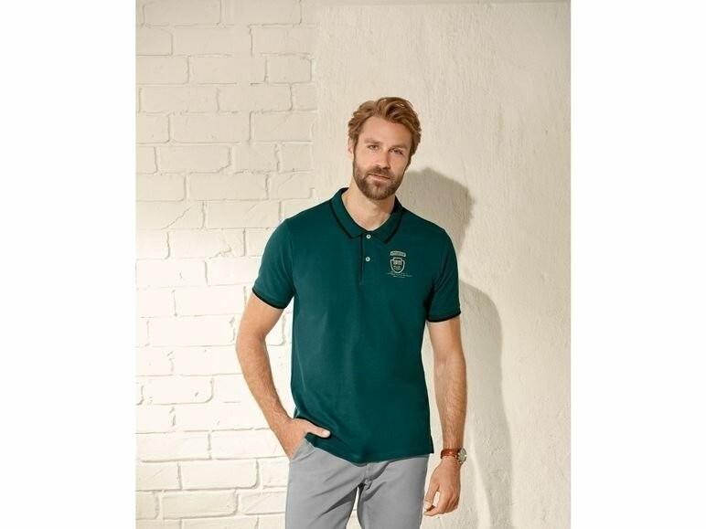 Шикарная мужская футболка поло пике тенниска livergy германия фото №1