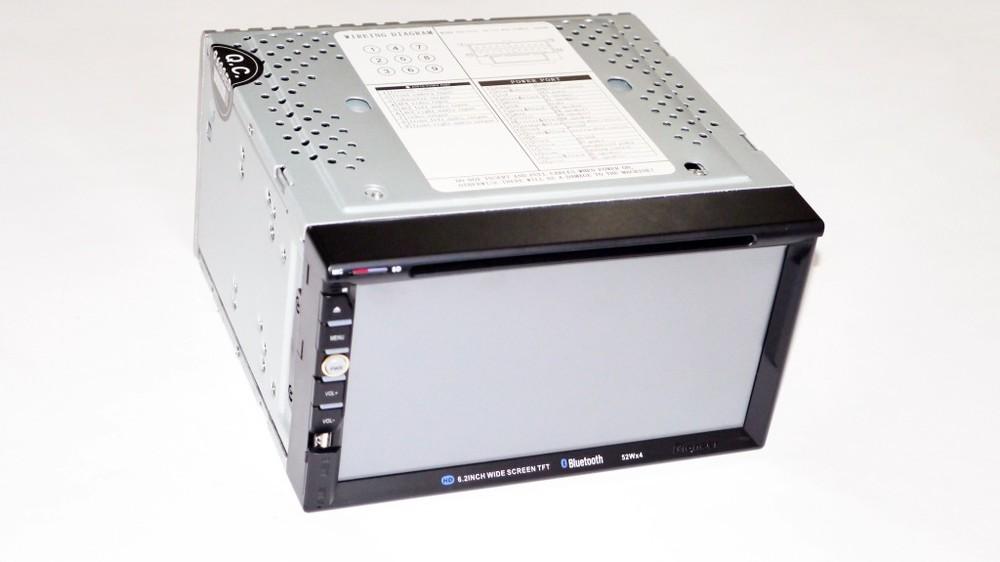 2din pioneer 6910 gps dvd usb sd tv + 8gb карта памяти c навигацией фото №1