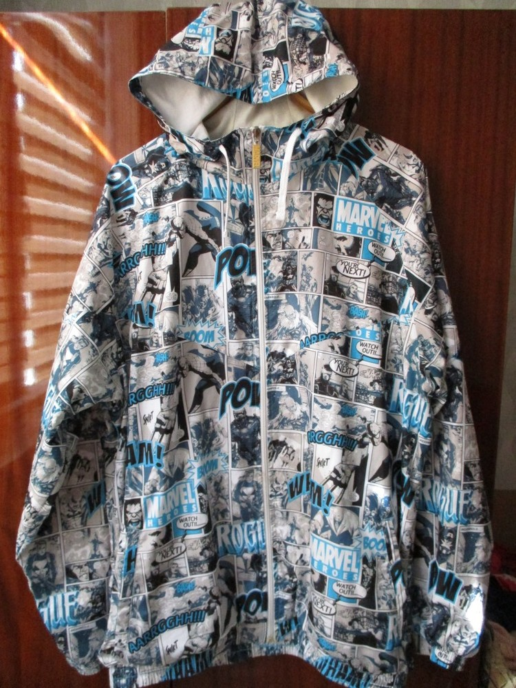 Куртка ветровка marvel фото №1