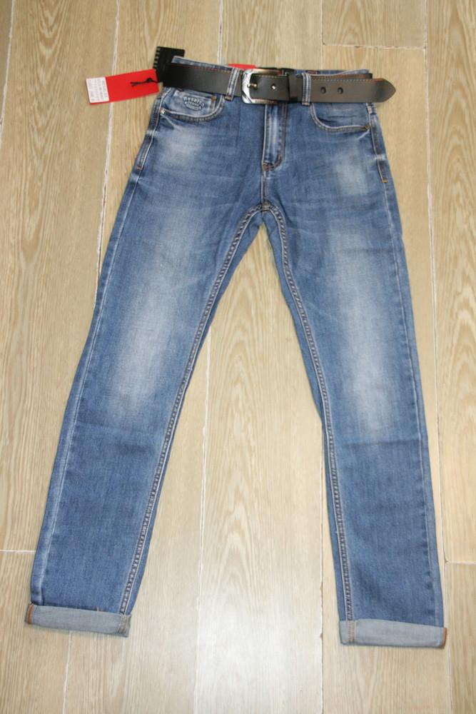 Мужские джинсы классика resalsa 9636 стрейчевые остались30 ,32рр фото №1