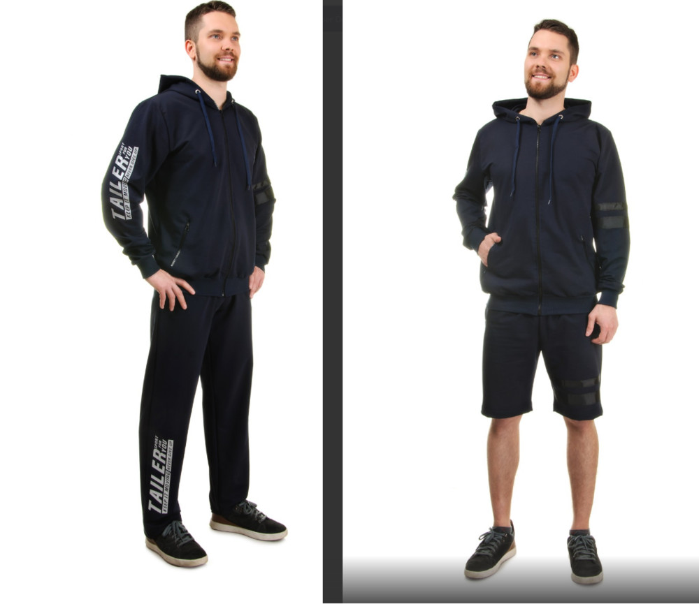 Р-р 50, 52, 54, 56, костюм тройка спортивный мужской демисезонній фото №1