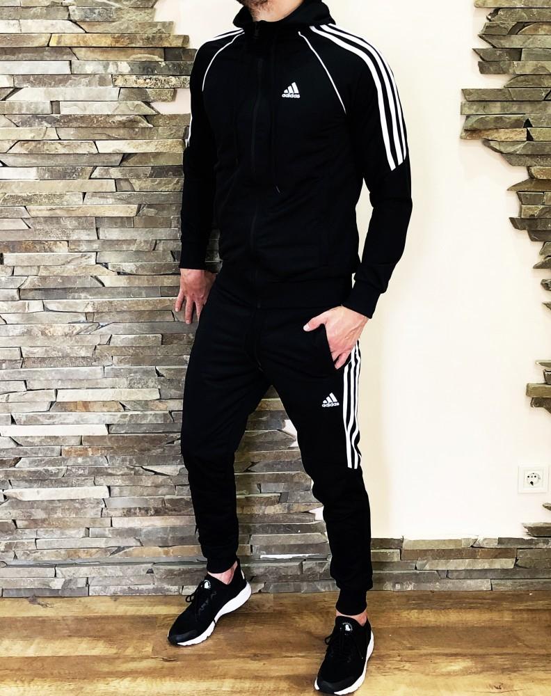 Спортивный костюм adidas era черный фото №1