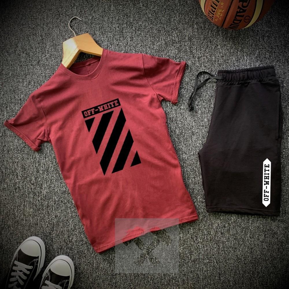 Мужской летний комплект футболка и шорты фото №1
