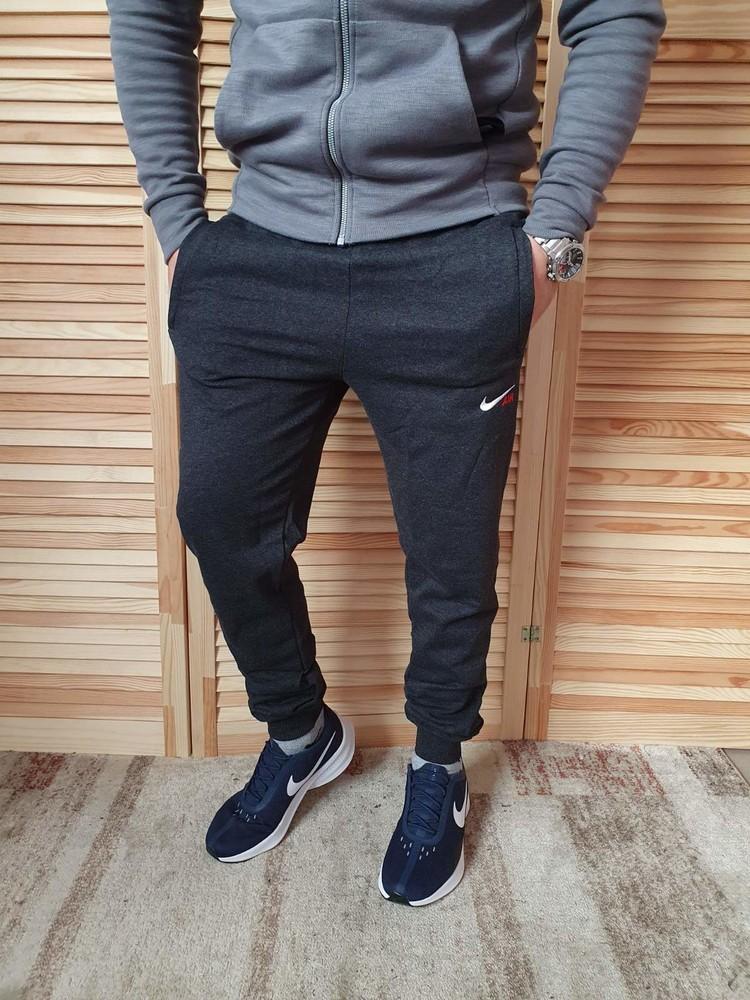 Классные стильные спортивные штаны мужские на манжете, для мужчин, 46, 48, 50, 52 рр фото №1