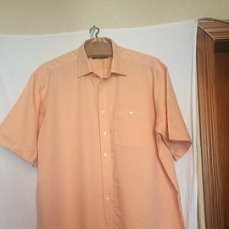 Стильная рубашка,шведка,тенниска,короткий рукав,большой размер,etema excellent(56-58) фото №1