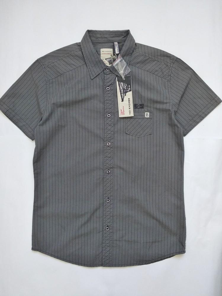 Рубашка в полоску размер л фото №1