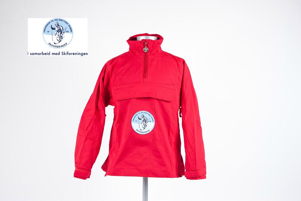 Яркая лыжная куртка-анорак markaanorakk , норвегия, р. xxl-4xl фото №1