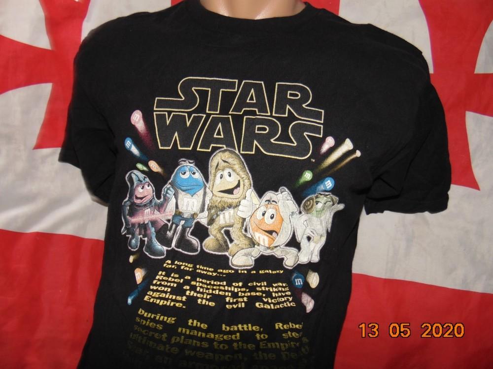Катоновая стильная футболка .star wars .м фото №1