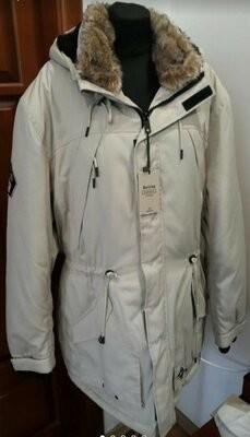 Мужская зимняя куртка парка пуховик bershka фото №1